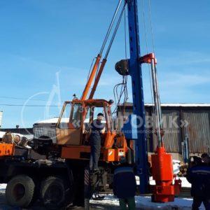 "Сваебойная установка на базе КАМАЗ - УЗСО ""Копровик"""