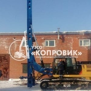 "Копровая мачта с кронштейном - УЗСО ""Копровик"""
