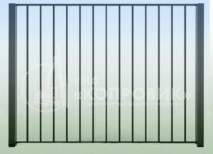"""Забор сварной ЗС-1 в Екатеринбурге от производителя - УЗСО """"Копровик"""""""