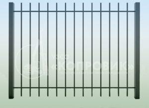 """Забор сварной ЗС-4, купить под заказ у производителя в Екатеринбурге - УЗСО """"Копровик"""""""