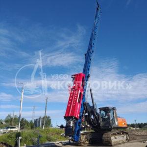 Нестандартное оборудование от завода Копровик - сваебойно-буровая установка с пантографом