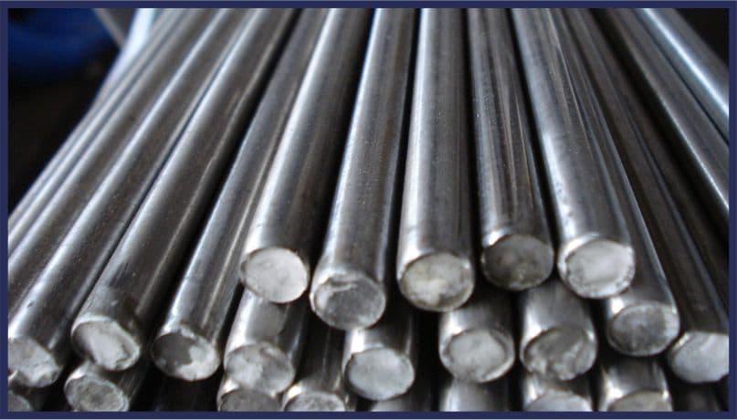 Запас металлопроката для токарных работ - завод Копровик