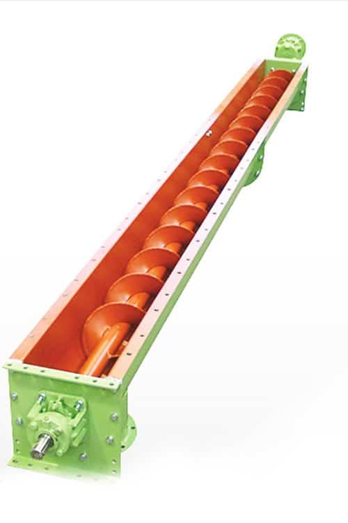 Шнек горизонтальный конвейерный - изготовление на заказ на заводе Копровик