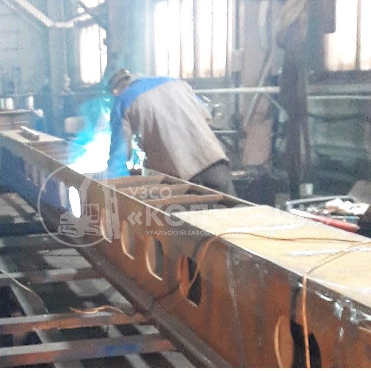 Изготовление металлоконструкций, сварка в УЗСО Копровик