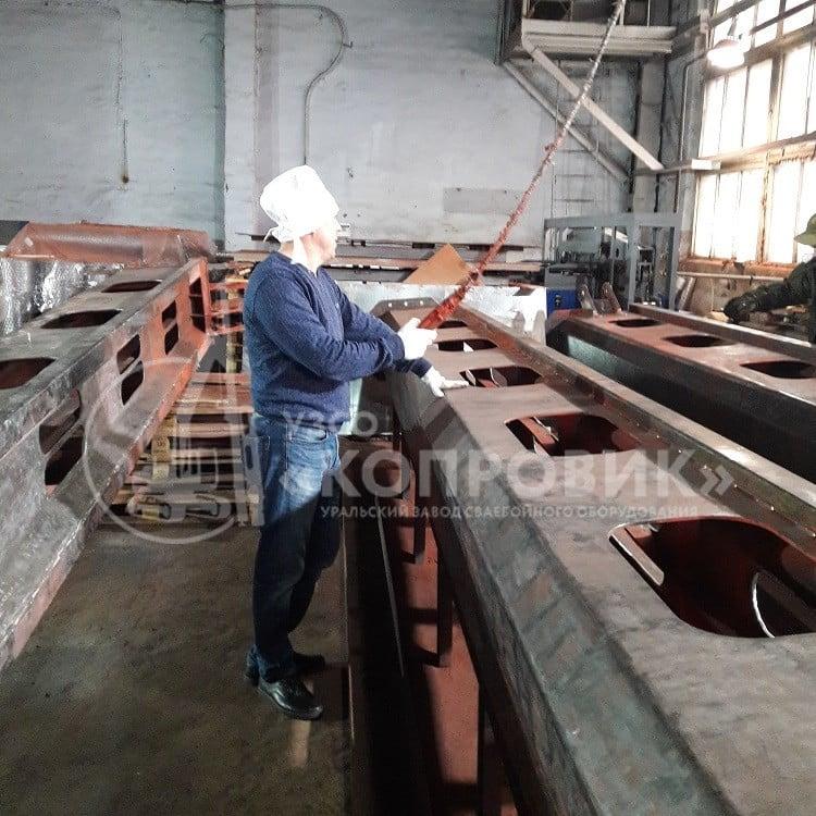 Сборка металлоконструкций - цех УЗСО Копровик