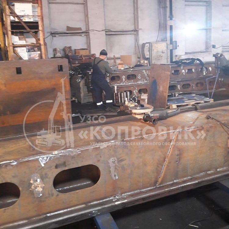 Шлифовка металла - изготовление металлоконструкций в УЗСО Копровик